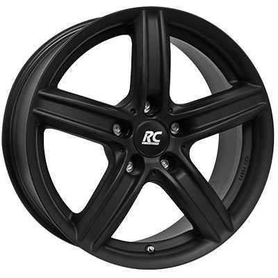 RC-Design Alufelge RC21 schwarz klar matt 8J x 17 ET 30 Vorderachse / Hinterachse 5er F10 F11 6er F12 F13 X3 F25 Z4 E89