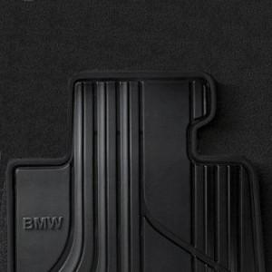 BMW Satz Gummimatten BASIS hinten anthrazit 3er F30 F31 M3 F80 4er F36