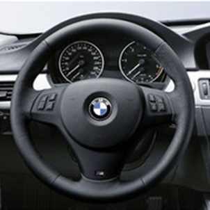 BMW M Leder Sportlenkrad Airbag 1er E81 E87 E88 E82 3er E90 E91 E92 E93  X1 E84