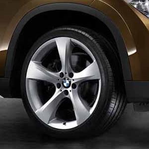 BMW Kompletträder Sternspeiche 311 silber 19 Zoll X1 E84