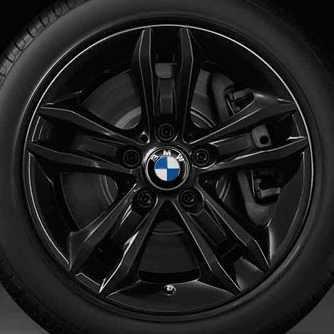 BMW Alufelge Sternspeiche 319 schwarz 7,5J x 17 ET 34 Vorderachse / Hinterachse BMW X1 E84