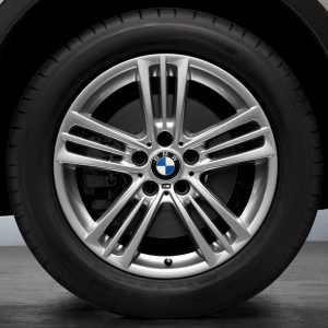 BMW Alufelge Sternspeiche 368 8J x 18 ET 43 Silber Vorderachse / Hinterachse BMW X3 F25 X4 F26