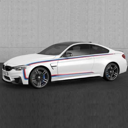 BMW M Performance Motorsportstreifen 3er F80 M3