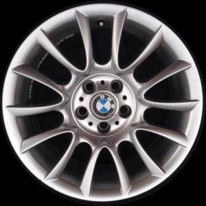 BMW Alufelge Individual V-Speiche 152 silber 8J x 18 ET 43 Vorderachse / Hinterachse 5er E60 E61