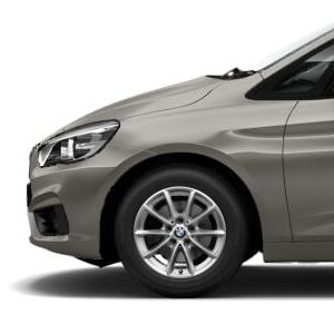 BMW Alufelge V-Speiche 471 reflexsilber 7J x 16 ET 52 Vorderachse / Hinterachse BMW 2er F45 F46