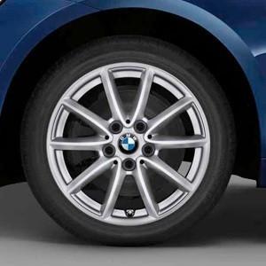 BMW Winterkompletträder V-Speiche 471 reflexsilber 16 Zoll 2er F45 F46 RDCi