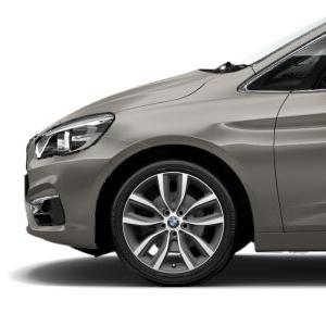 BMW Alufelge V-Speiche 485 ferricgrey 8J x 18 ET 57 Vorderachse / Hinterachse BMW 2er F45 F46