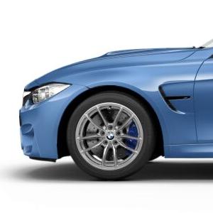 BMW Alufelge V-Speiche 513M silber 9J x 18 ET 29 Vorderachse M3 F80 M4 F82 F83