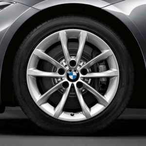 BMW Alufelge V-Speiche 514 silber 8,5J x 17 ET 40 Hinterachse BMW Z4 E89