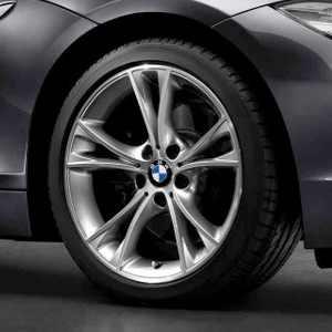 BMW Alufelge V-Speiche 515 silber 8J x 18 ET 29 Vorderachse BMW Z4 E89