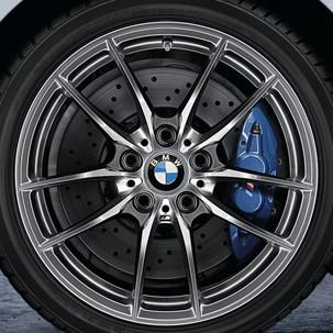 BMW Winterkompletträder M Flow-Forming 640 dekorsilber 18 Zoll M2 F87 RDCi