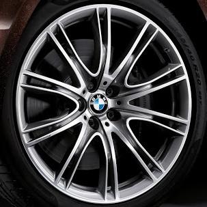 BMW Winterkompletträder V-Speiche 649i ferricgrey 20 Zoll 7er G11 G12 RDCi