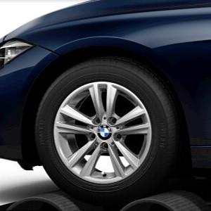 BMW Alufelge V-Speiche 656 reflexsilber 7,5J x 16 ET 37 Vorderachse / Hinterachse BMW 3er F30 LCI F31 LCI