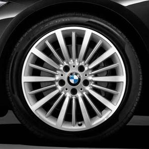 BMW Alufelge Vielspeiche 416 8J x 18 ET 34 Silber Vorderachse / Hinterachse BMW 3er F30 F31 F34 GT 4er F32 F33 F36