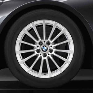 BMW Winterkompletträder Vielspeiche 619 silber 18 Zoll 7er G11 G12 RDCi