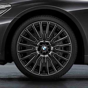 BMW Kompletträder Vielspeiche 629 liquid black 21 Zoll 7er G11 G12 RDCi