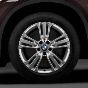 BMW Alufelge W-Speiche 447 silber 10J x 19 ET 53 Hinterachse X5 F15