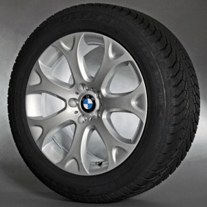 BMW Alufelge Y-Speiche 211 9J x 19 ET 48 Silber Vorderachse / Hinterachse BMW X5 E70