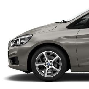 BMW Alufelge Y-Speiche 480 glanzgedreht 7,5J x 17 ET 54 Vorderachse / Hinterachse BMW 2er F45 F46