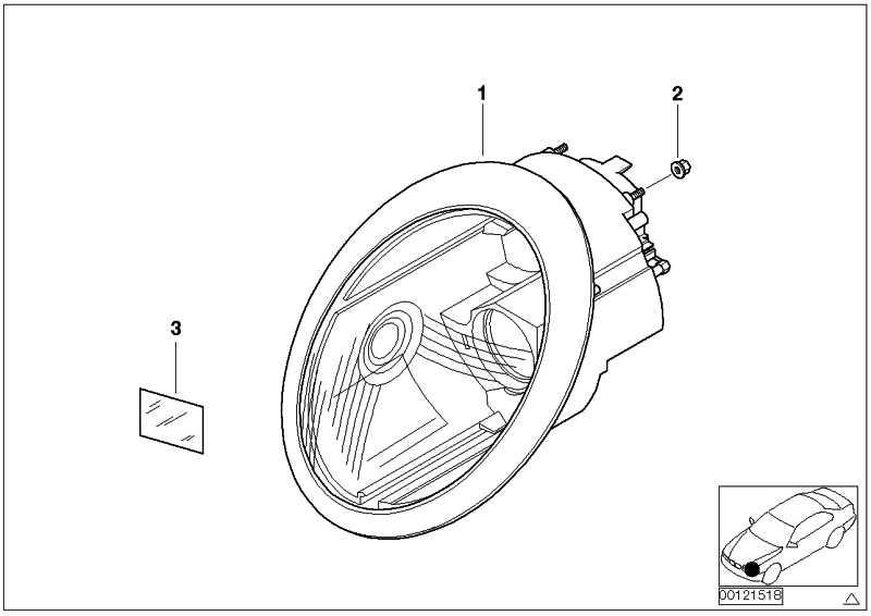 Cob Led Mini Scheinwerfer Lampe Scheinwerfer 3 Modus Regen Stirn Lampe Ta e1t 3X