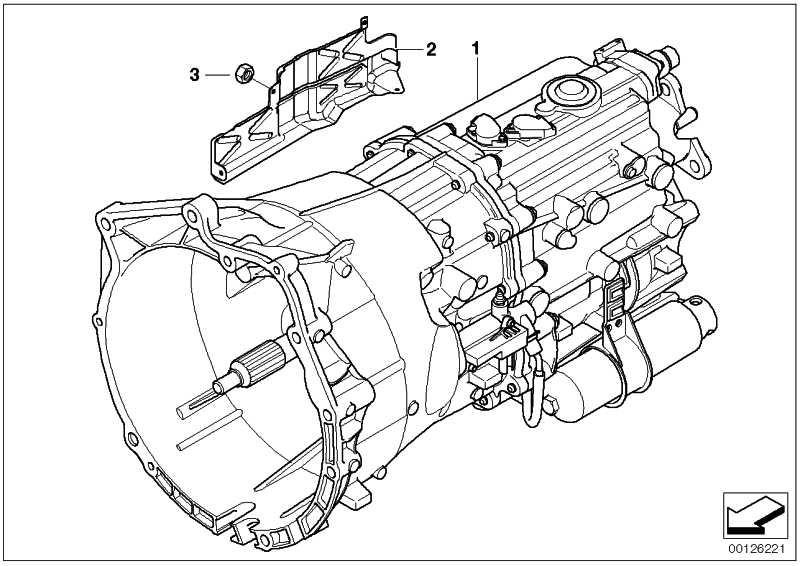 Austausch 6 Gang Getriebe Sequentiell Gs6s37bz