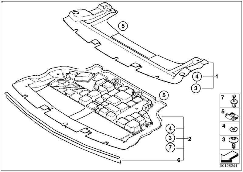 Unterbodenverkleidung Vorne Mini 51757201782 Leebmann24 De