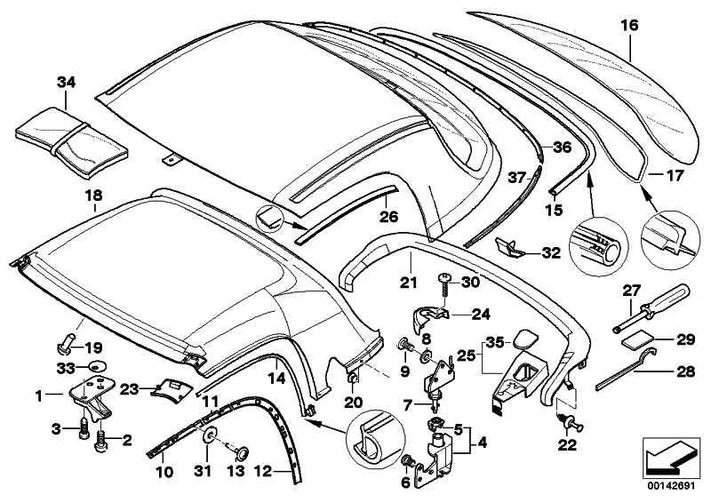 2000 bmw z3 parts catalog