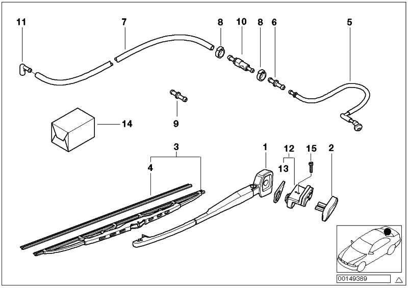 heckscheibentaster mit mikroschalter 5er 61318363631. Black Bedroom Furniture Sets. Home Design Ideas
