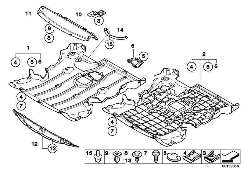 motorraumabschirmung unterfahrschutz 1er 51757161568. Black Bedroom Furniture Sets. Home Design Ideas
