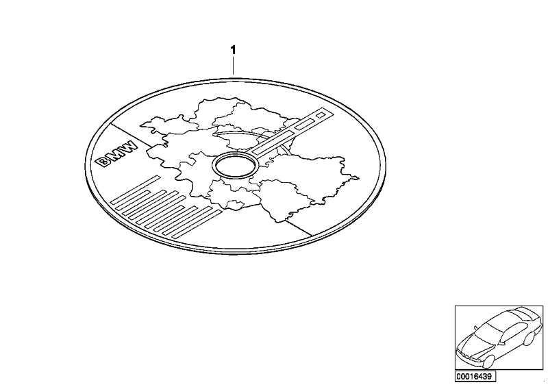 CD Schaltpläne 501-E30; DE/EN 3er 5er 6er 7er M1 Z1 (01560035852 ...