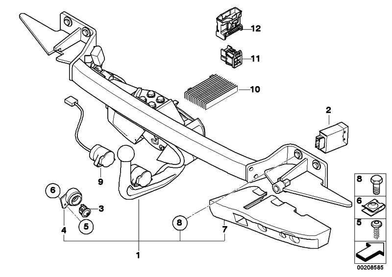 steuerger t ahk 5er 71606793271. Black Bedroom Furniture Sets. Home Design Ideas