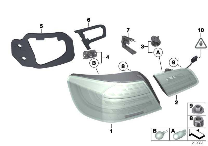 fassung mit lampe 16w 3er 63217274611. Black Bedroom Furniture Sets. Home Design Ideas