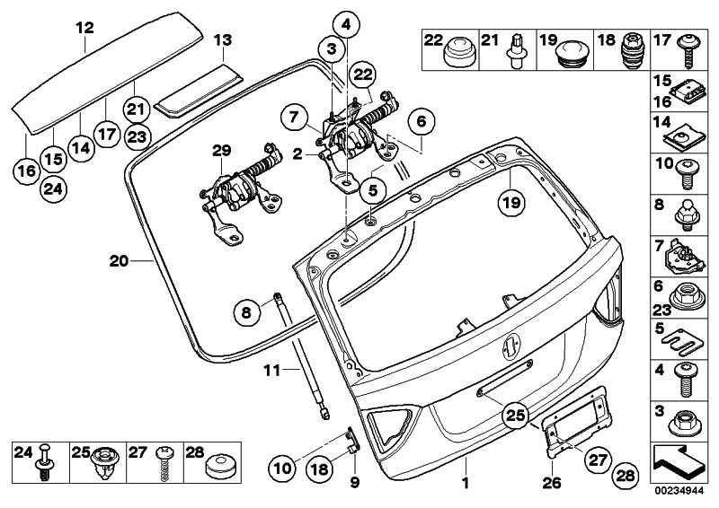\ BMW 3 E90 E90 Gasfeder \ BMW 3 E90 E90 Koffer-//Laderaum BMW 3 \ BMW 3