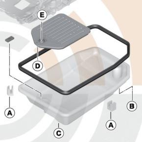 bmw lfilterkit automatikgetriebe 3er e46 5er e39 x3 e83. Black Bedroom Furniture Sets. Home Design Ideas