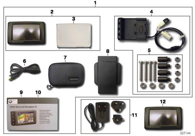 bmw motorrad navigator iv 77527721939. Black Bedroom Furniture Sets. Home Design Ideas