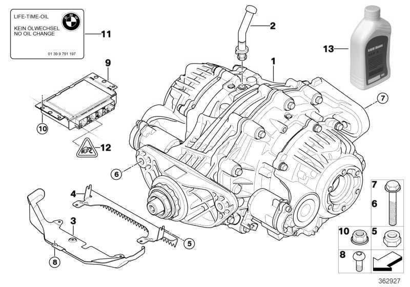Hinterachs-Getriebeöl SAF Carbon Mod 0,5L X5 X6 (83120445832)
