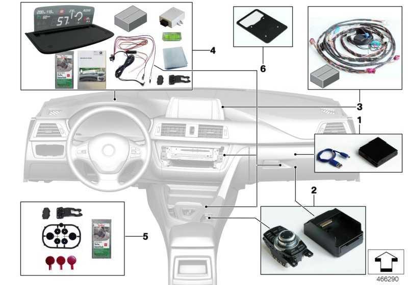 satz halter controller integrated navi 1er 2er 3er 4er 5er. Black Bedroom Furniture Sets. Home Design Ideas
