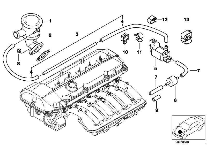 Bmw E46 Engine Vacuum Diagram