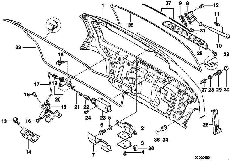 Einbauanleitung mit Schablone 3er Original BMW 01299789109