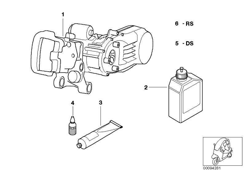 11001341616 Original BMW Motorrad Reparatursatz Ölwechsel
