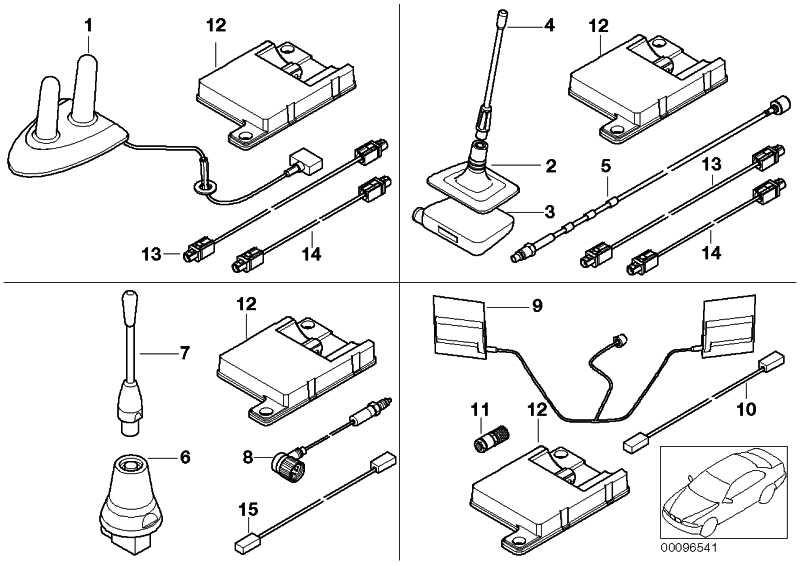 bluetooth antenne 1er 3er 5er 6er 7er x3 x5 x6 z4 mini 84506928461. Black Bedroom Furniture Sets. Home Design Ideas