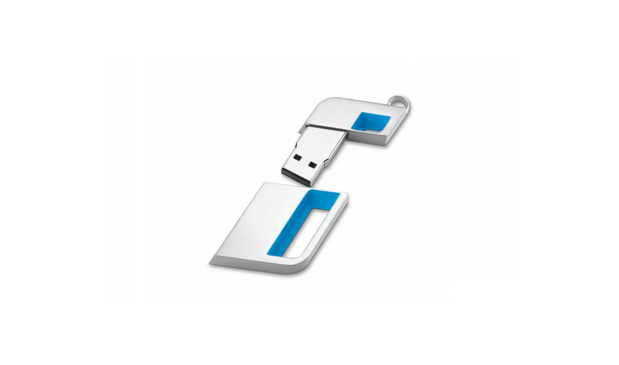 bmw i usb stick 32 gb silber. Black Bedroom Furniture Sets. Home Design Ideas