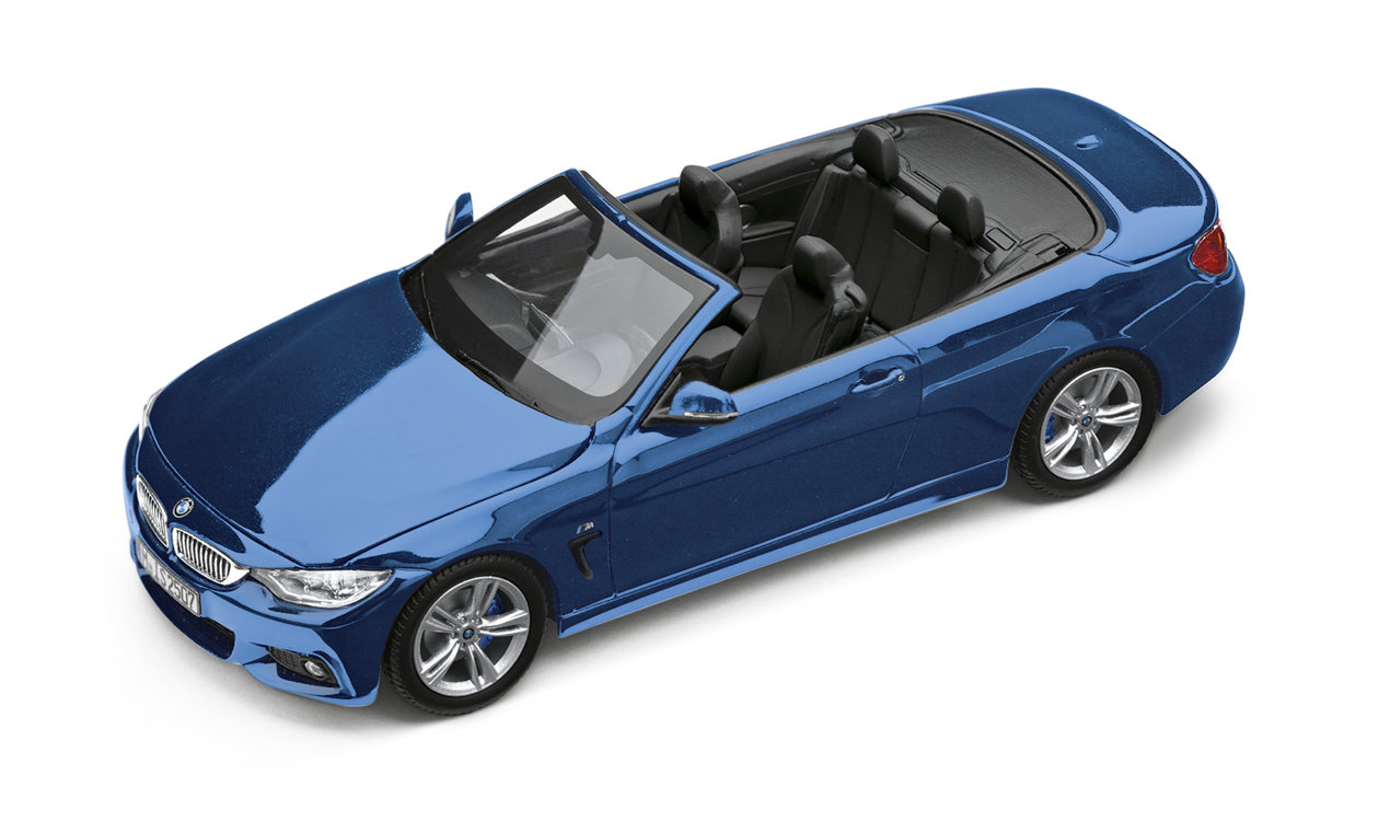 bmw 4er cabrio f33 miniatur 1 43. Black Bedroom Furniture Sets. Home Design Ideas
