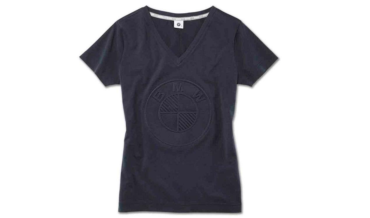 bmw damen t shirt logo. Black Bedroom Furniture Sets. Home Design Ideas