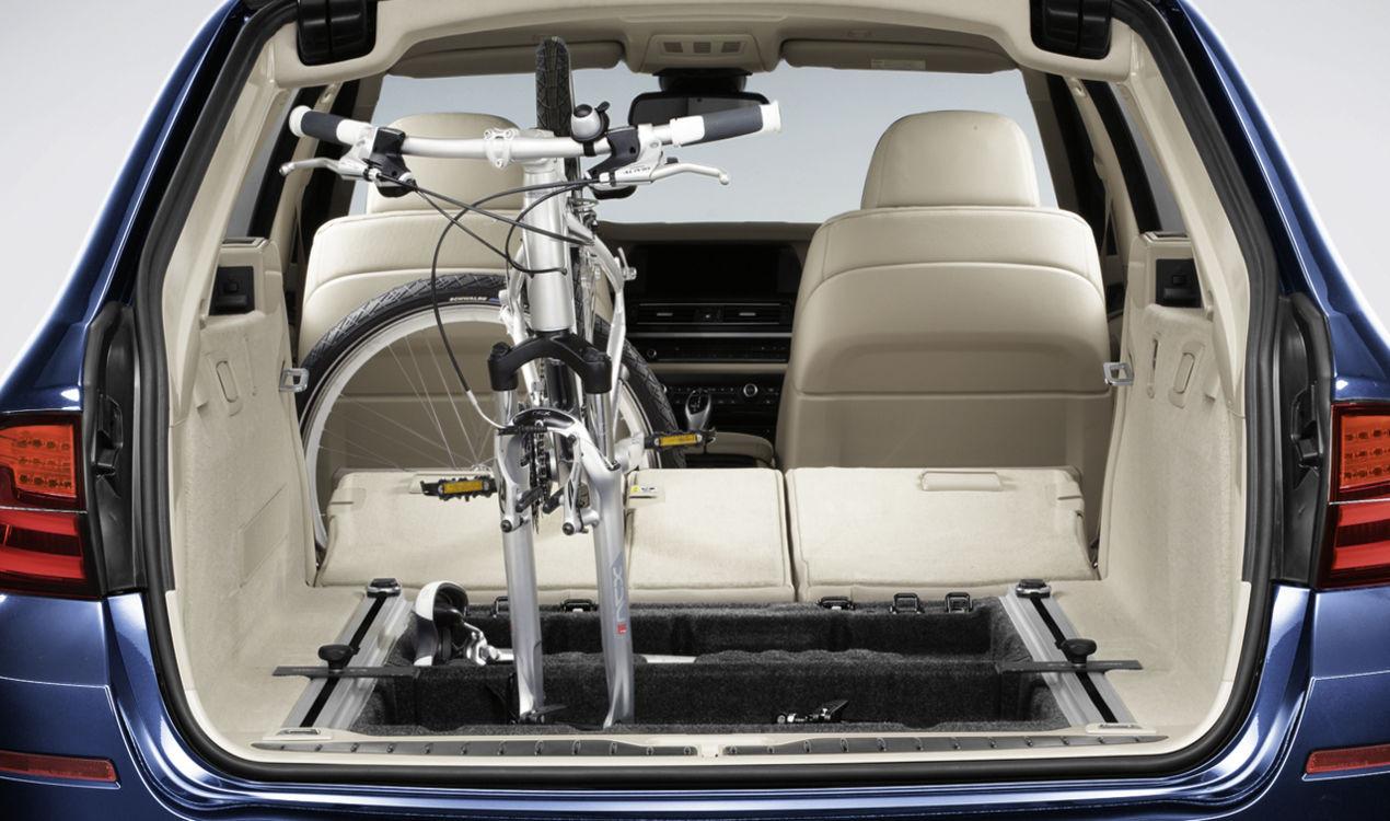 bmw fahrradhalter innenraum 5er f11. Black Bedroom Furniture Sets. Home Design Ideas