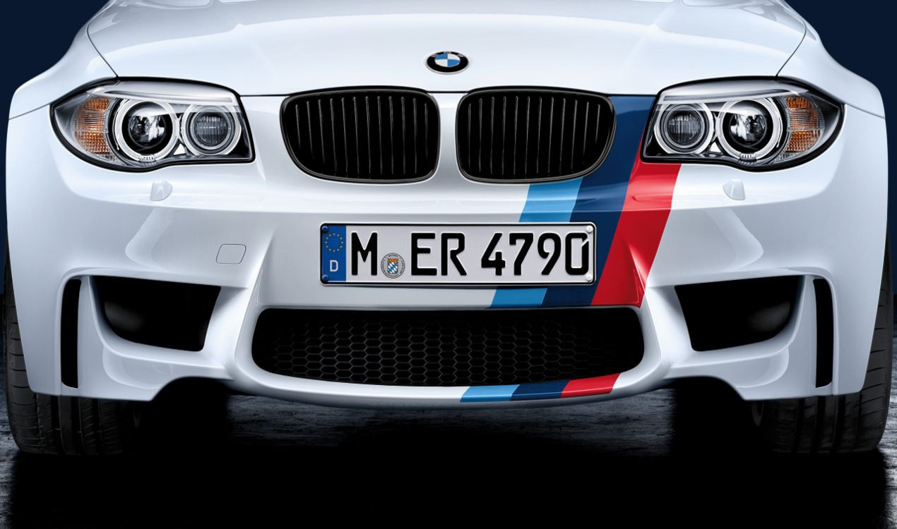 bmw m performance streifen 1er e82 m coup. Black Bedroom Furniture Sets. Home Design Ideas