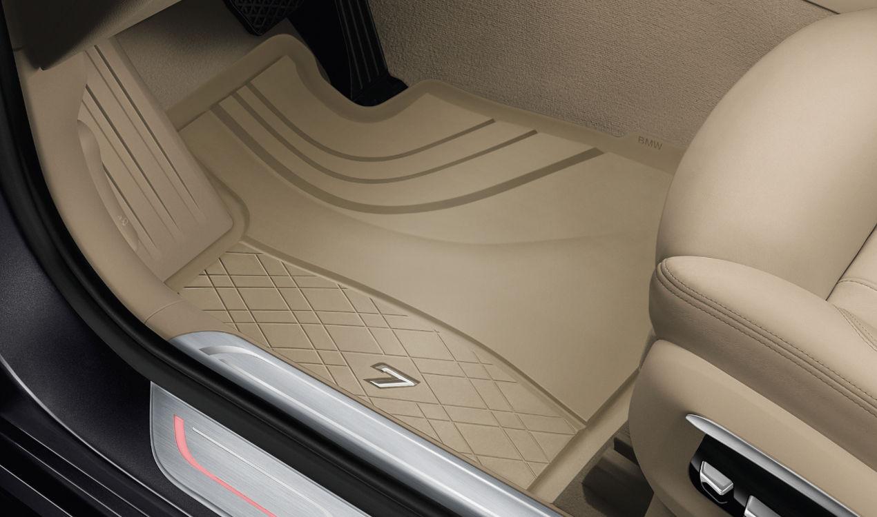 Original BMW 7er Allwetter Fussmatten vorne G11 G12 Gummi-Matten NEU 51472443985
