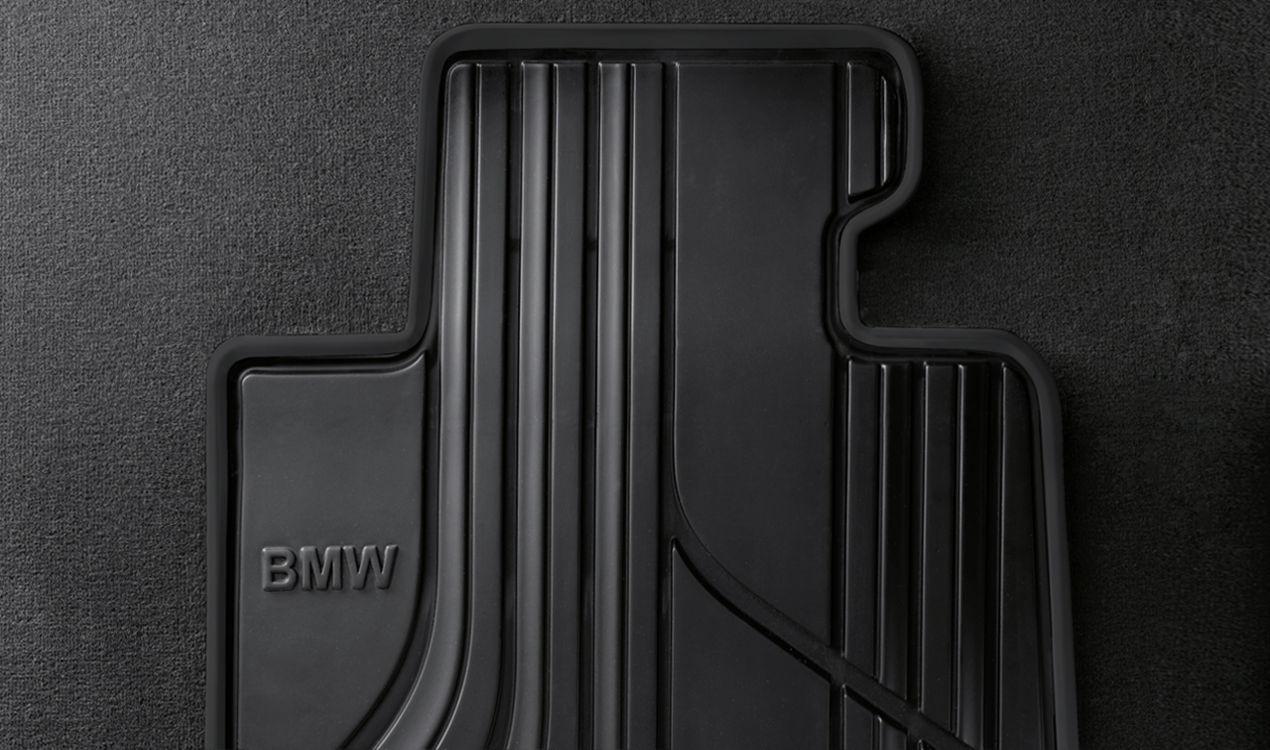bmw satz gummimatten basis vorne anthrazit 3er f30 f31. Black Bedroom Furniture Sets. Home Design Ideas