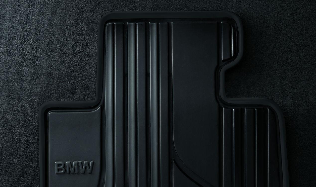 bmw satz gummimatten vorne anthrazit f r 3er e90 e91 e92 e93. Black Bedroom Furniture Sets. Home Design Ideas