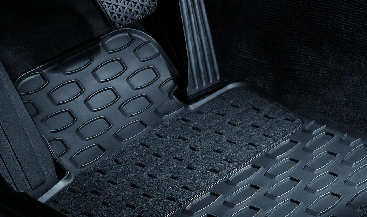 passend für 5er E60 LCI E61 LCI BMW Satz Fußmatten Gummimatten vorne